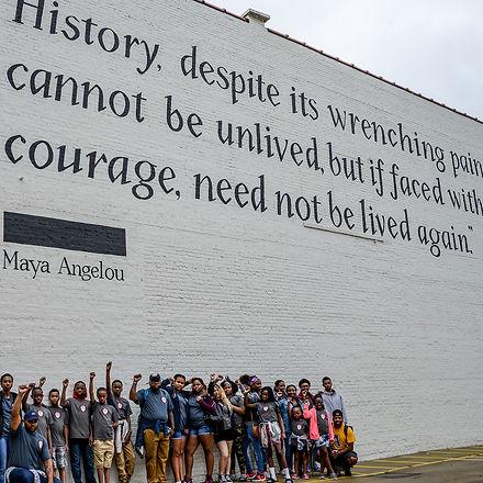 Maya Angelou, Social Justice School