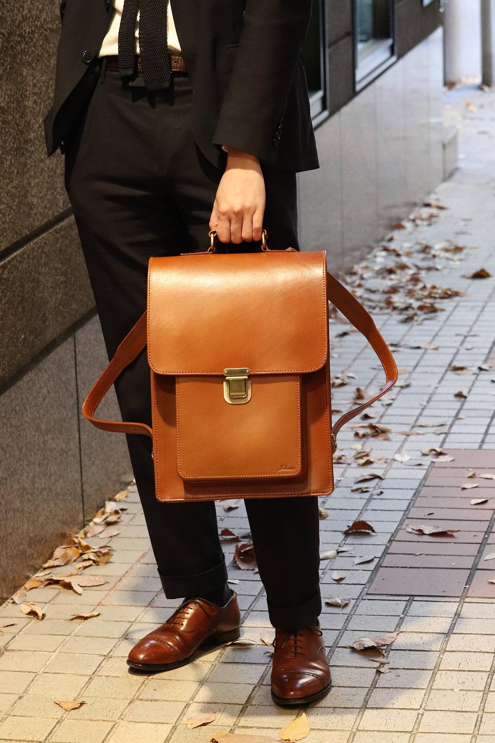 モデル 180cm サイズ:Slim カラー:Antique Brown