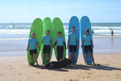 Ocean lovers surf school