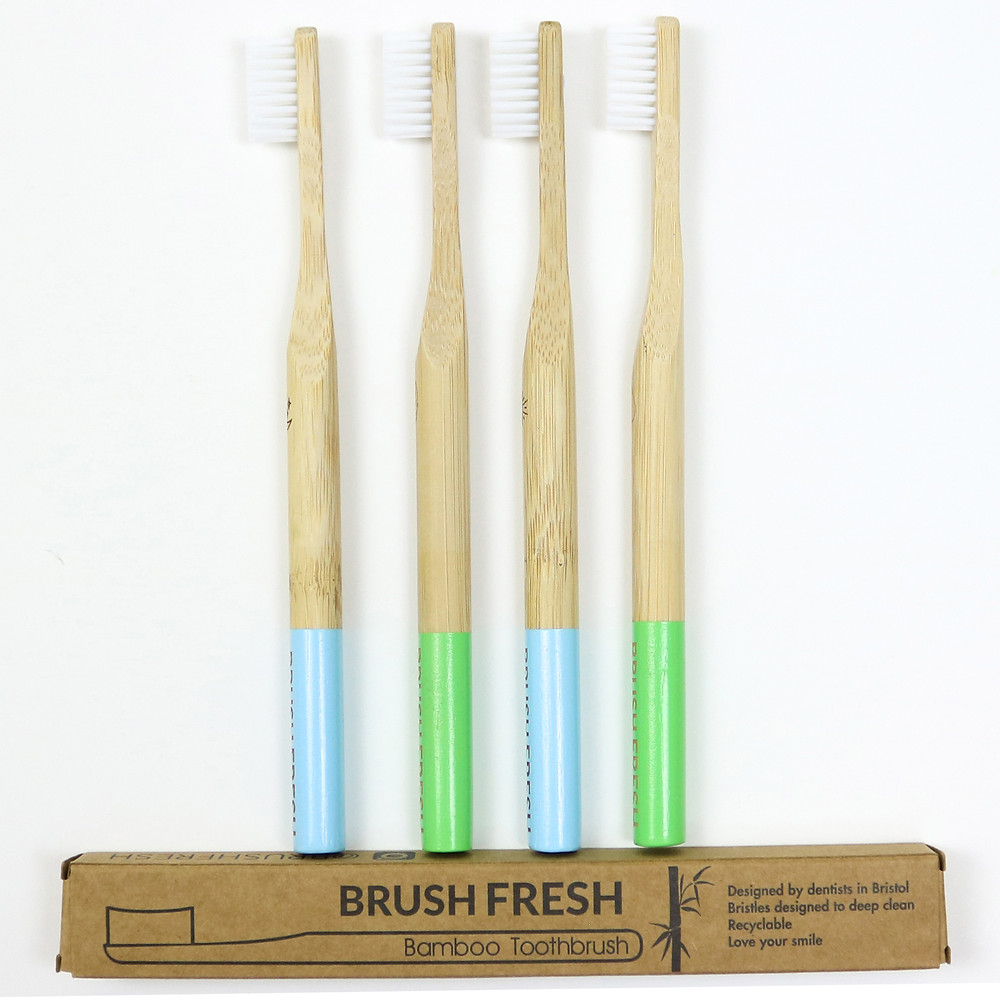 Brush Fresh Bamboo Toothbrushes - the planets most friendly toothbrush!