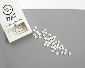 Plastic Free Toothpaste Tablets from Brush Fresh