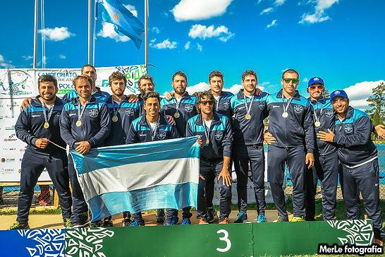 Seleccion Argentina Senior Masculina de Kayak Polo
