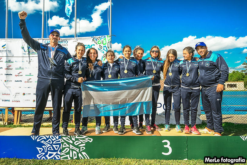 Seleccion Argentina Senior Femenina de Kayak Polo