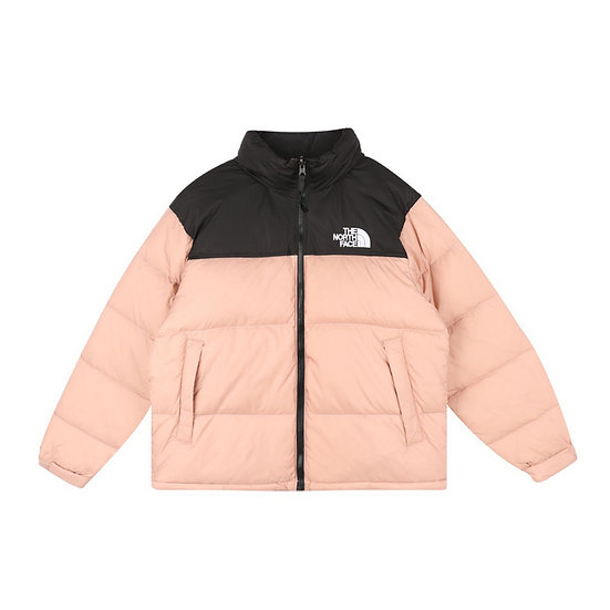 The North Face Puffer Jacket Salmon
