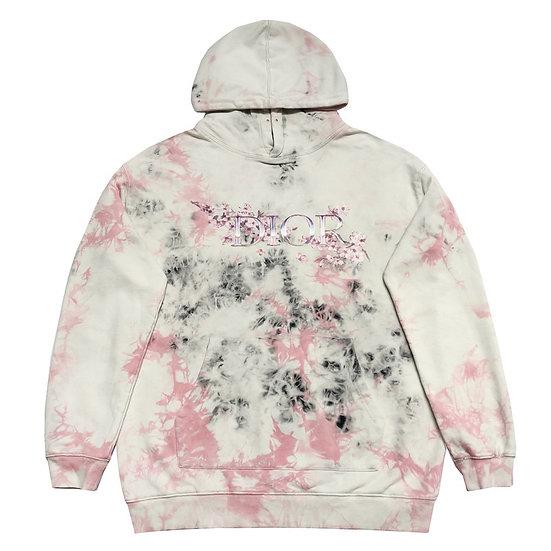 DIOR Tie Dye Sakura Hoodie