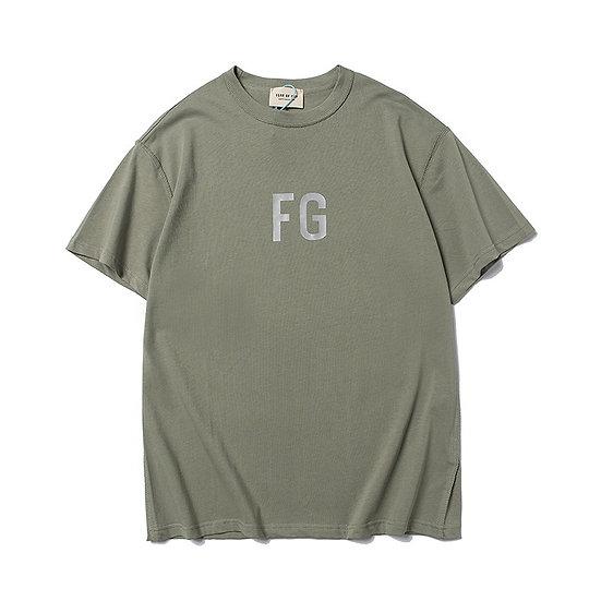 Fear of God FG Logo Tee Olive