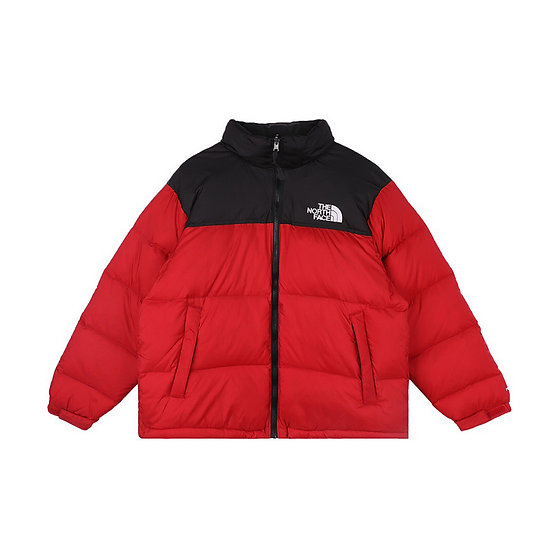 The North Face Puffer Jacket Red