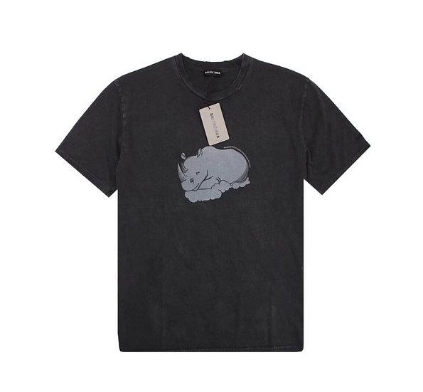 "Balenciaga ""Endangered Species"" Rhino Print Tee"