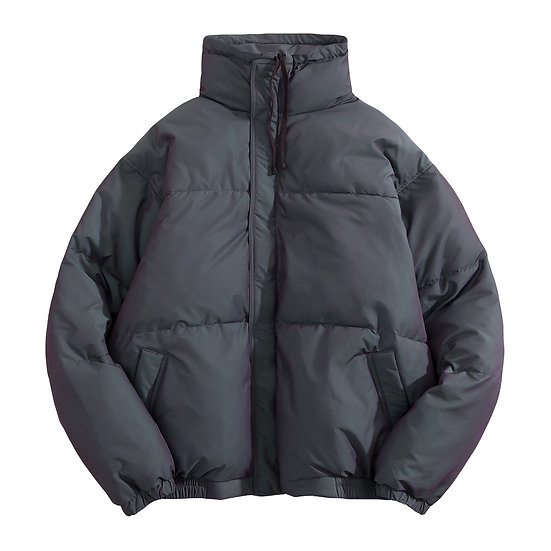 Fear of God Essential Puffer Jacket Charcoal