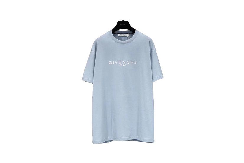 Givenchy Logo T-Shirt Baby Blue