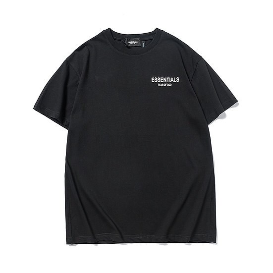 Fear of God Essential Star Print Tee Black