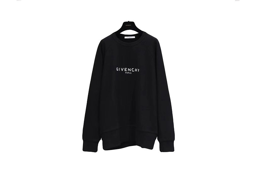 Givenchy Black Logo Sweater