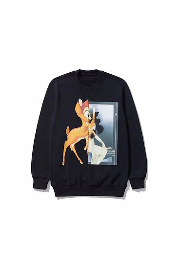 Givenchy Paris Bambi Sweatshirt Black