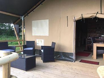 Beautiful tent interiors