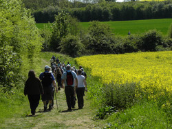 Lincolnshire wolds walking