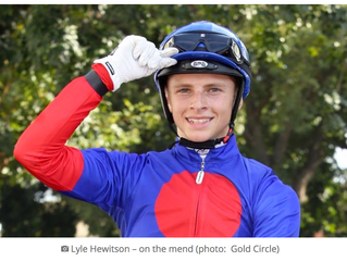 Jockey Uses HBOT To Recover From Fall