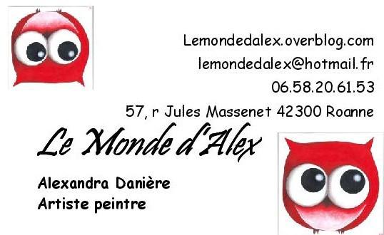 Le Monde d'Alex - Artiste Peintre Roanne