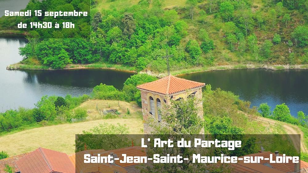 L' Art du Partage - Saint Jean Saint Maurice sur Loire
