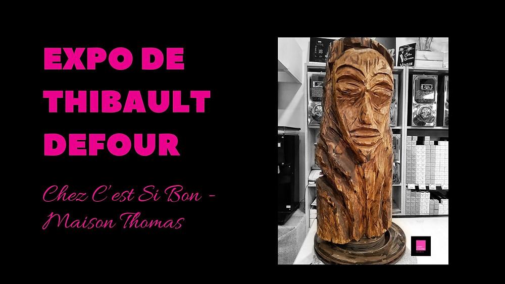 Thibault Defour expose à C'est Si Bon - Maison Thomas à Saint-Etienne