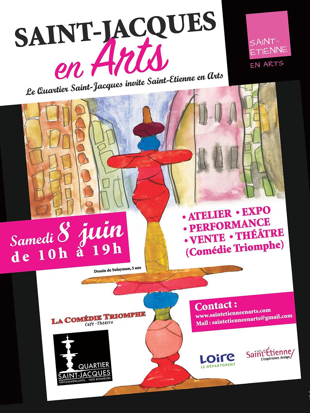 Saint-Jacques en Arts - Saint-Etienne