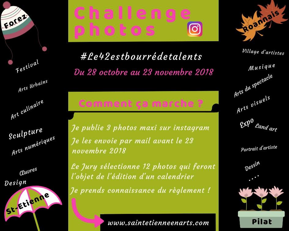 Challenge photos #Le42estbourrédetalents