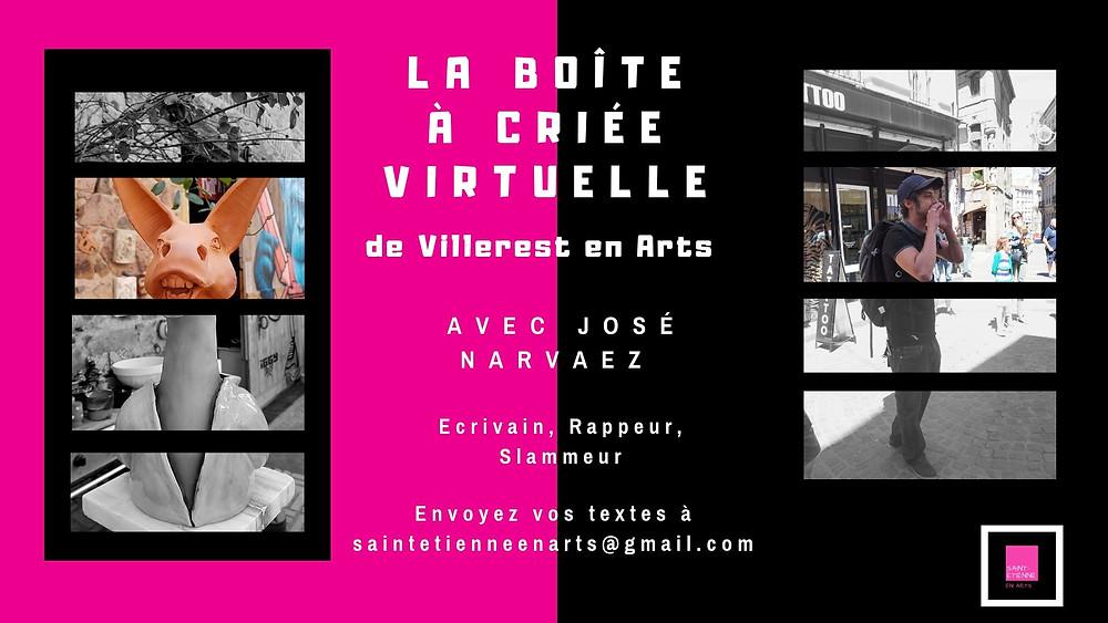 La boîte à criée (virtuelle) de Villerest en Arts