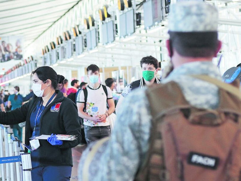 Borders would open at the end of the month and Health will monitor tourists for 14 days