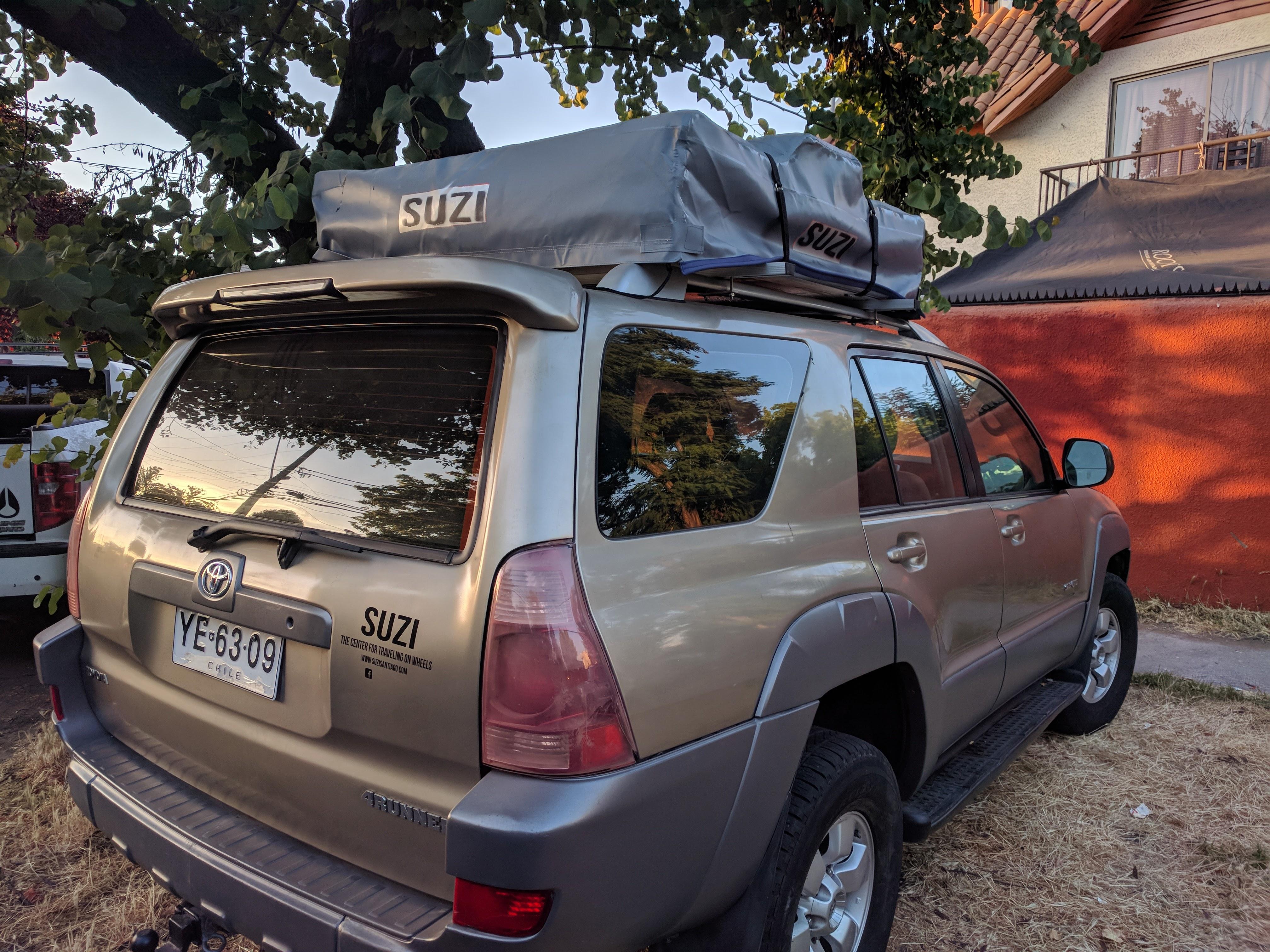 Camper Van, Chile