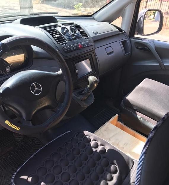 Mercedes vito camper chile