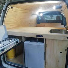 Mitsubishi L300 campervan conversion