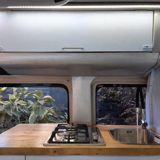 Campervan kitchen
