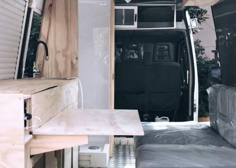 conversión de furgoneta básica