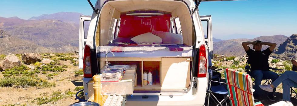 campervan rentals in chile