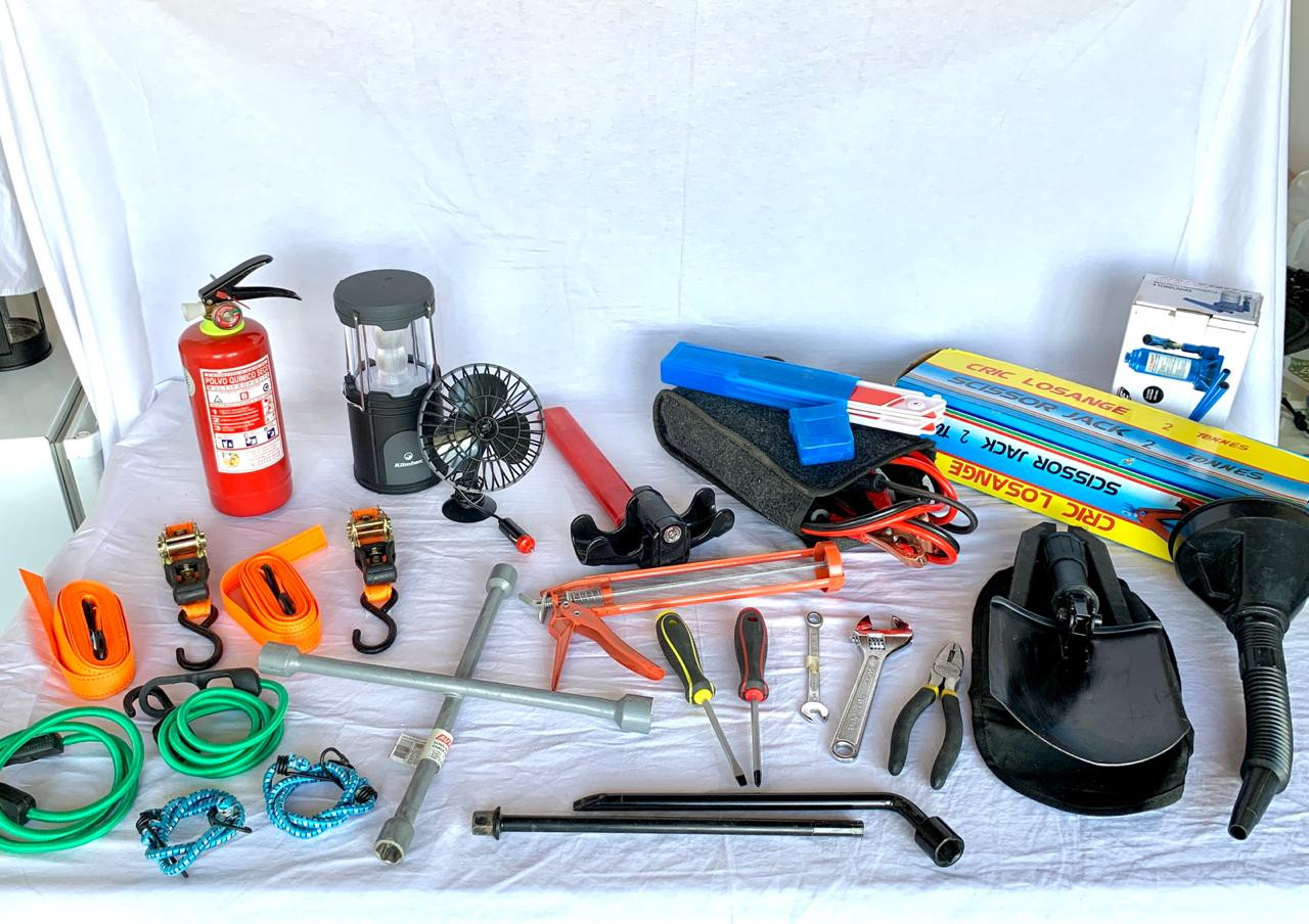 equipement for campervan