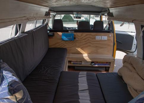 Conversión de minivan