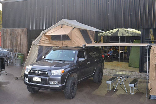 Awning with led light 1.6 X 2 Mt
