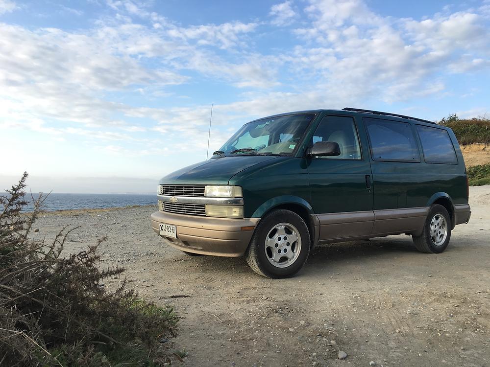 Chevrolet Astro Van Camper Chile