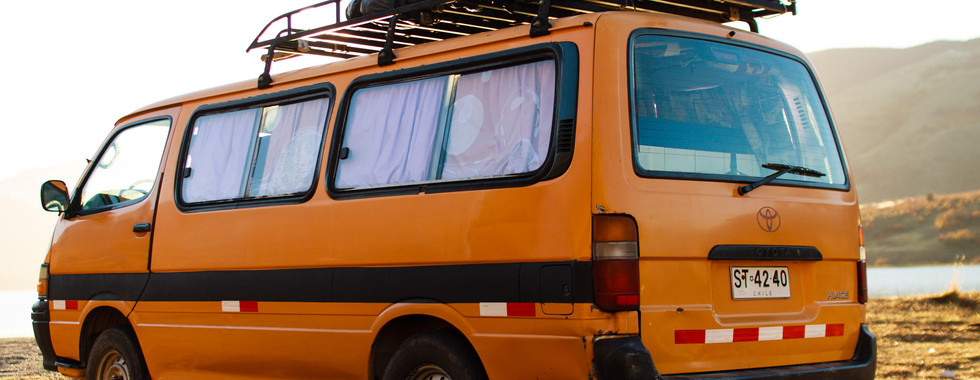 Toyota Hiace campervan chile