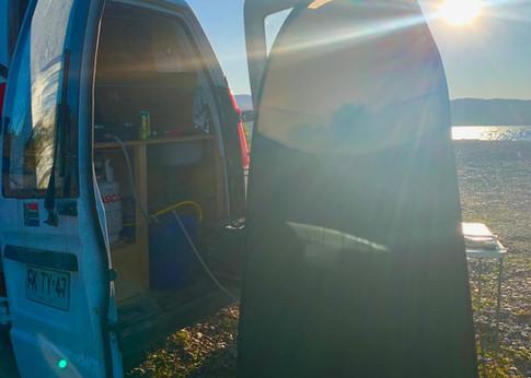 Conversión de autocaravana en chile