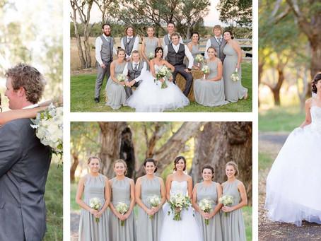 Tara & Jarrod - April 2016 Wedding