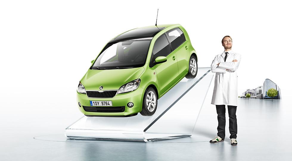 Skoda Citigo Launch Kampagne
