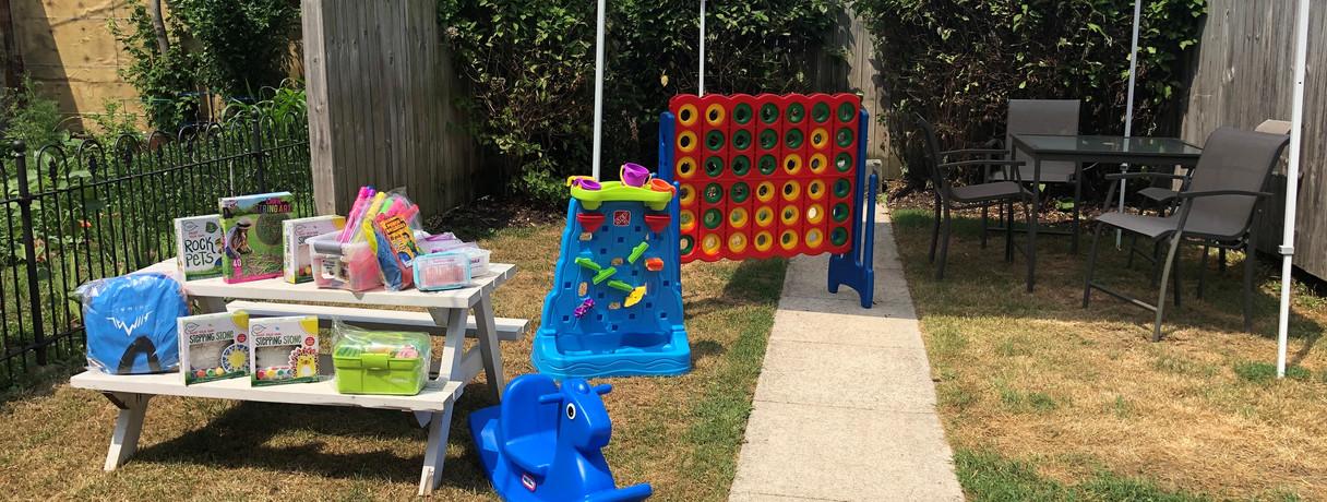 LIFE House Backyard
