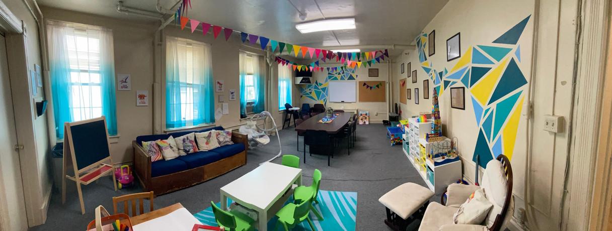 New Playrooms at CHOR