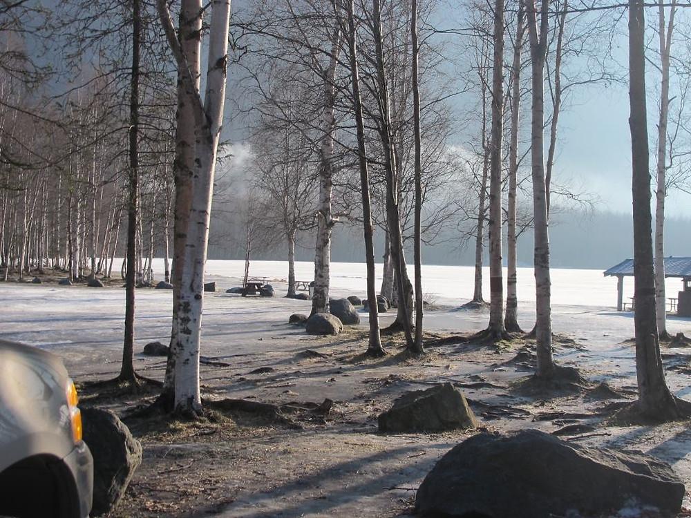 נוף באלסקה צילמה מאירה גוראי רז