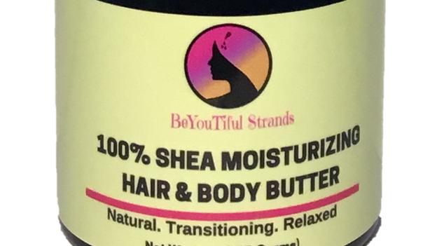 8 oz. Whipped Shea Moisturizing Butter - Vanilla Scent