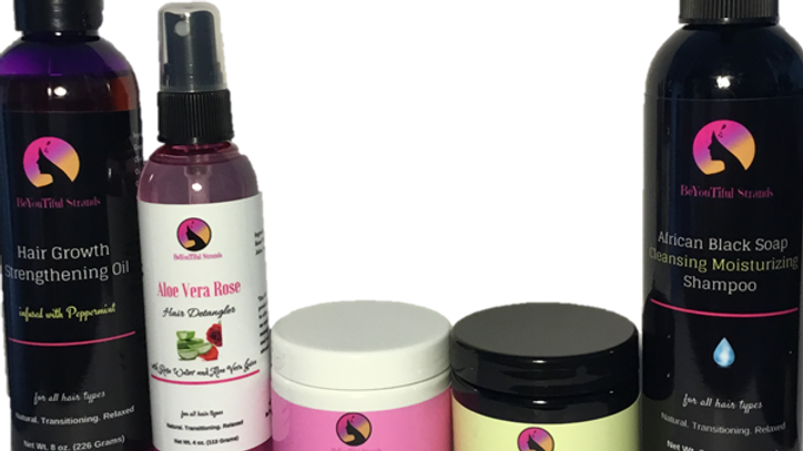 4 oz. Whipped Shea Growth System Bundle