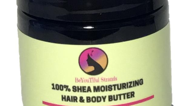4oz. Whipped Shea Moisturizing Butter - Vanilla Scent