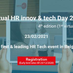 Discount Alert! | Virtual HR innov & tech Day  |  23.2.2021
