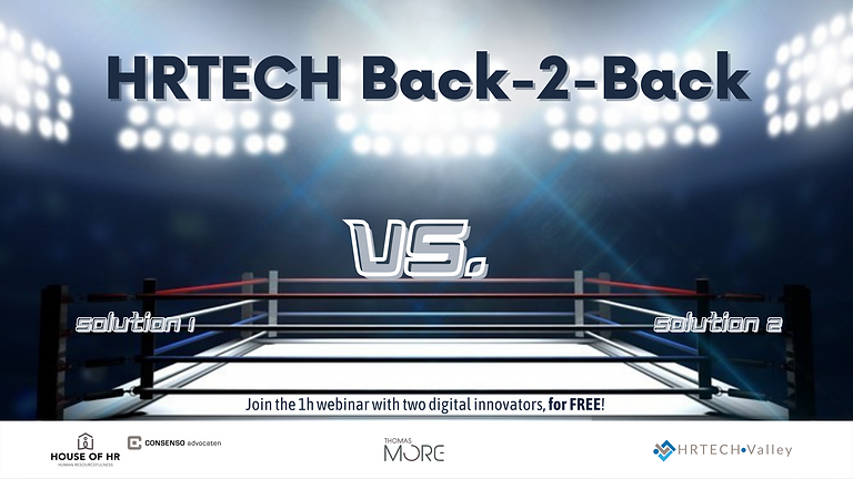 More HRTECH Back-2-Back: Attract me & Get me started