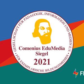 FLOWSPARKS wins European Comenius Award as didactic multimedia product
